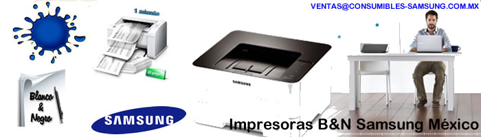 IMPRESORAS SAMSUNG BLANCO Y NEGRO